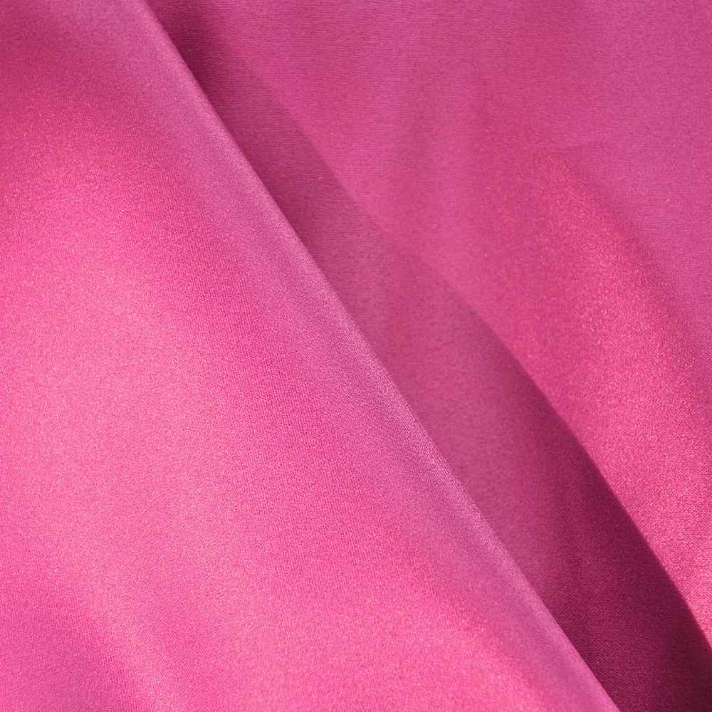 PRC/DULLSATIN / FUSCHIA 1195 / 100% Polyester Dull Satin