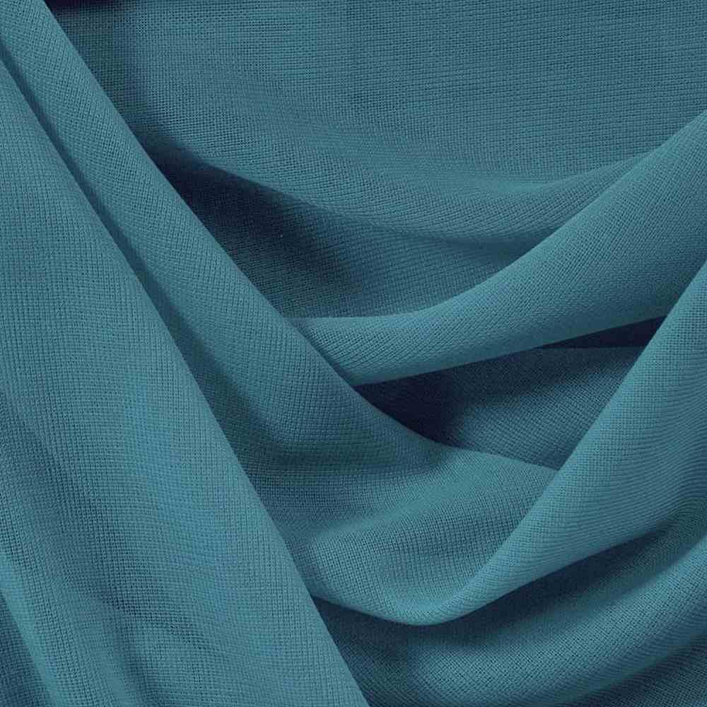 CMJ3000 / TEAL 724 / 100% Polyester Chiffon Matt Jersey