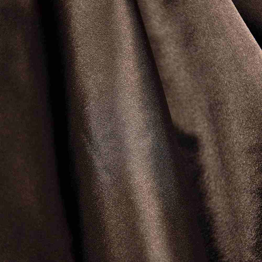 CRM / CHOCOLATE 333 / 100% Polyester Charmeuse