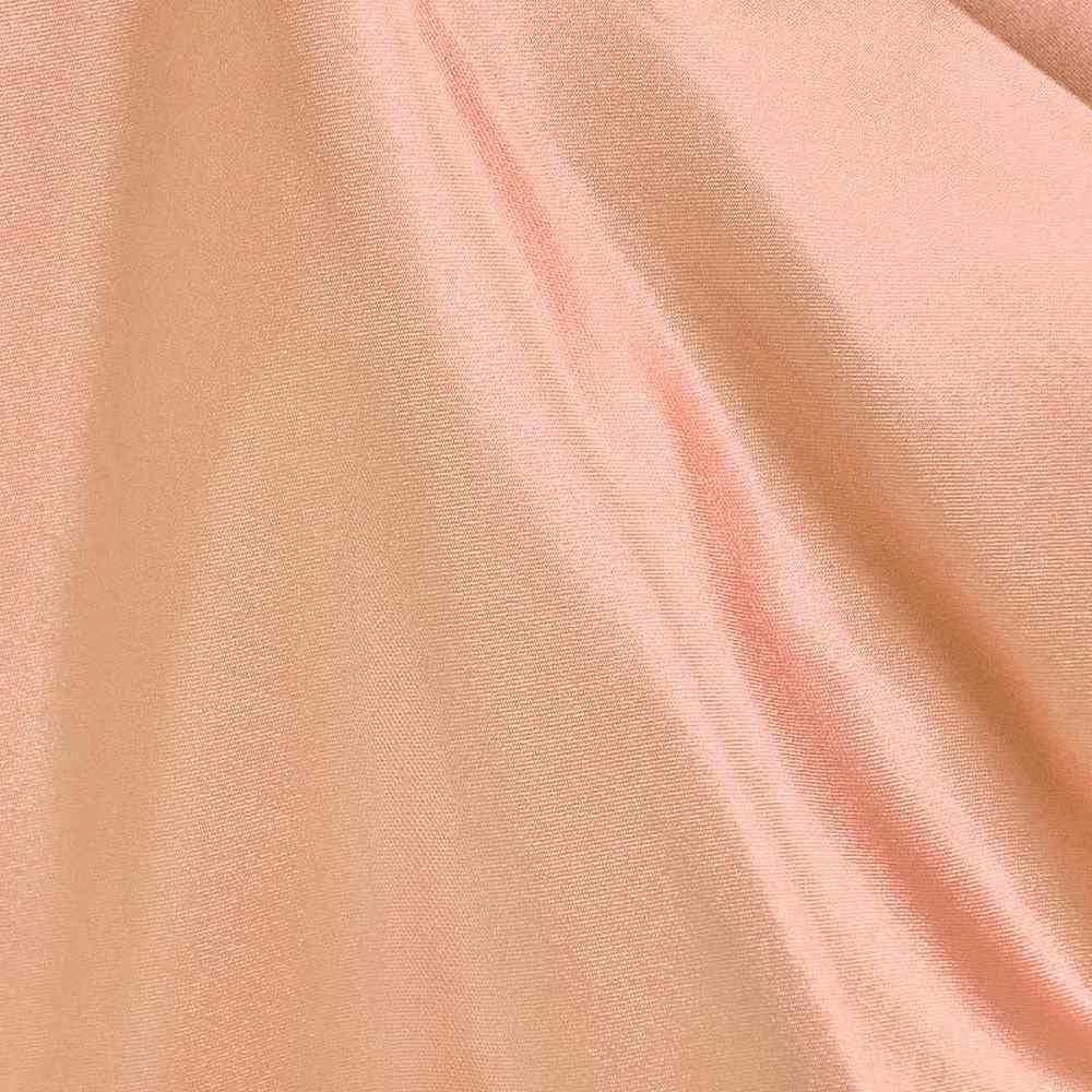 CRM / PEACH 78 / 100% Polyester Charmeuse
