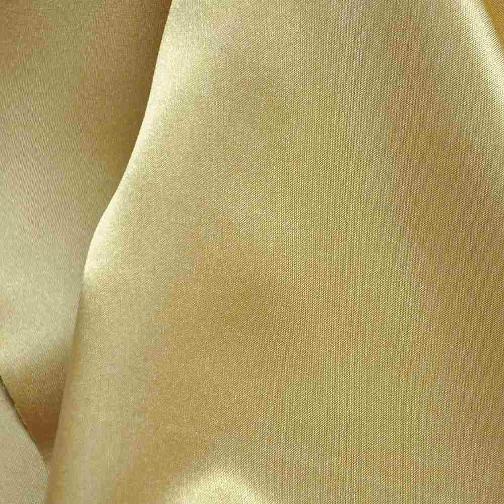 CRM / GOLD 319 / 100% Polyester Charmeuse