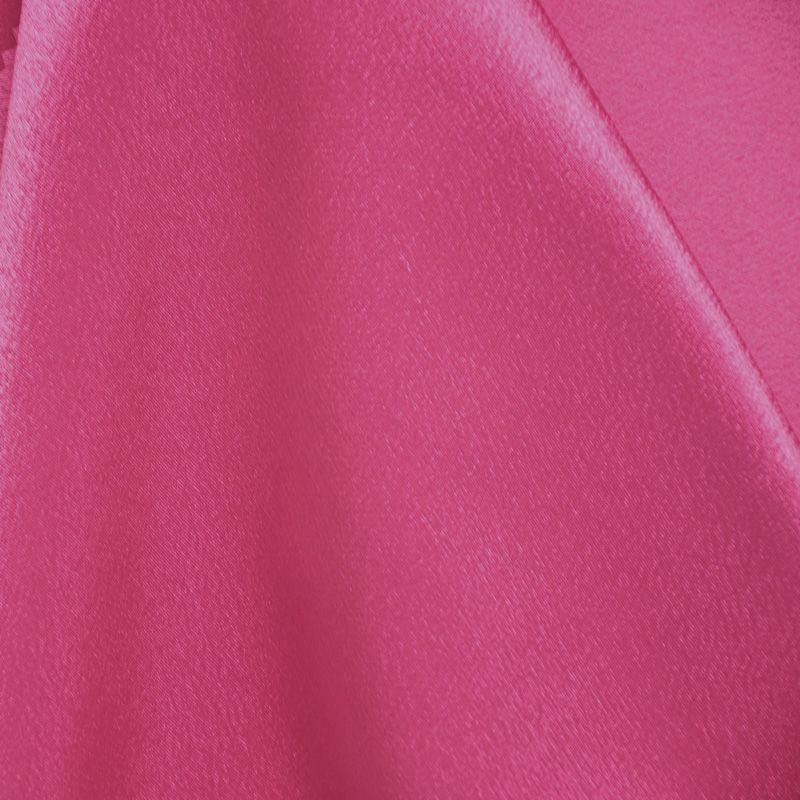 BACK CREPE / FUSCHIA 396 / 100% Polyester Back Crepe Satin