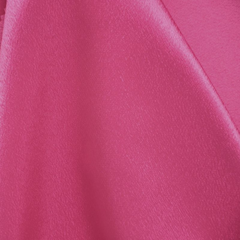 BACK CREPE / FUSCHIA 396 / 100% Polyester Back Crepe Satin