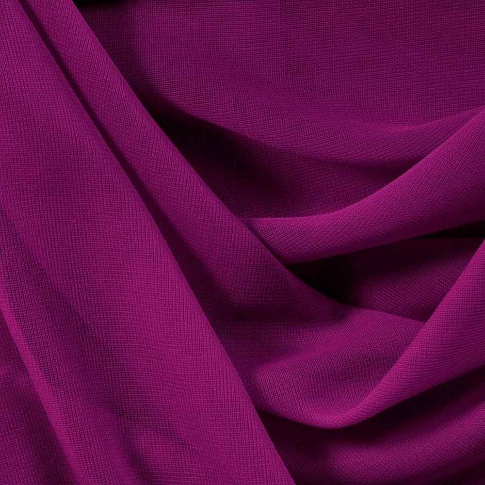 <h2>CMJ3000</h2> / MAGENTA 281                 / 100% Polyester Chiffon Matt Jersey