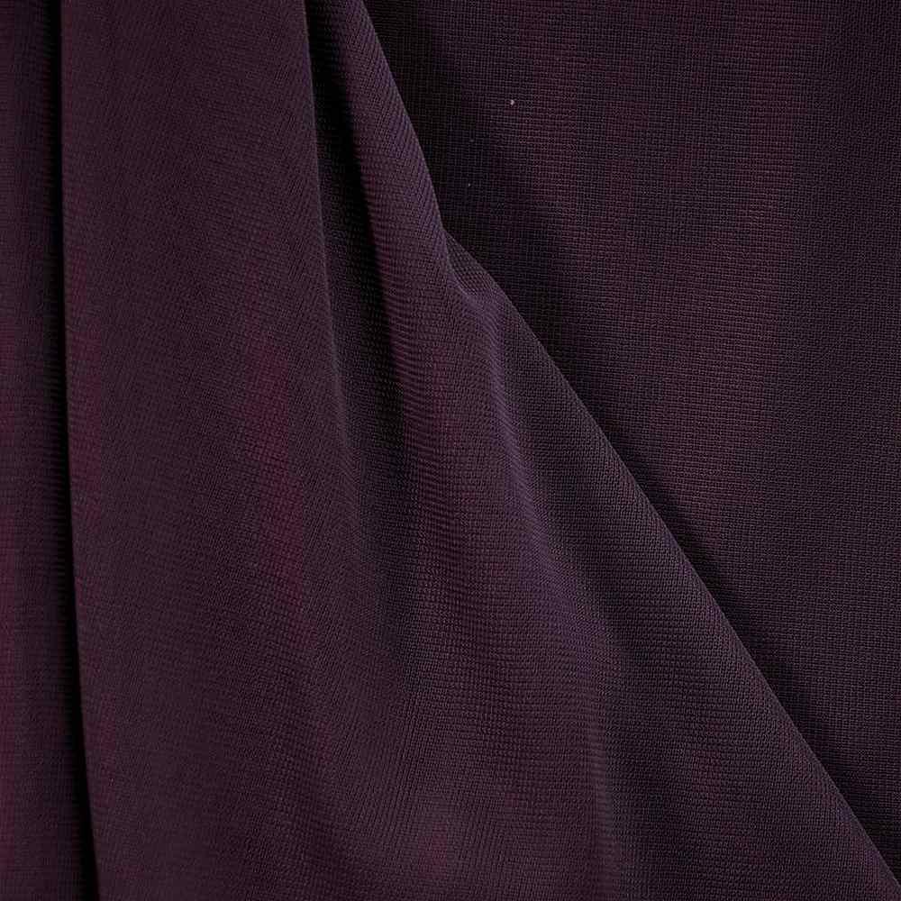 CMJ3000 / PLUM 720 / 100% Polyester Chiffon Matt Jersey
