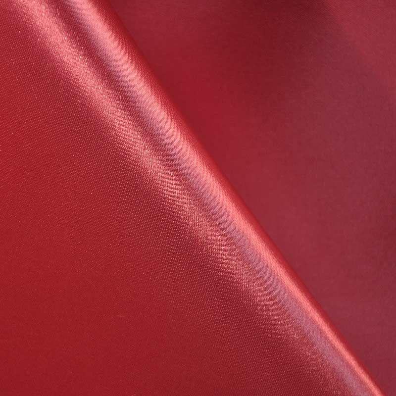 SATIN/POLY 3145 / BURGUNDY 232 / 100% Polyester Bridal Satin