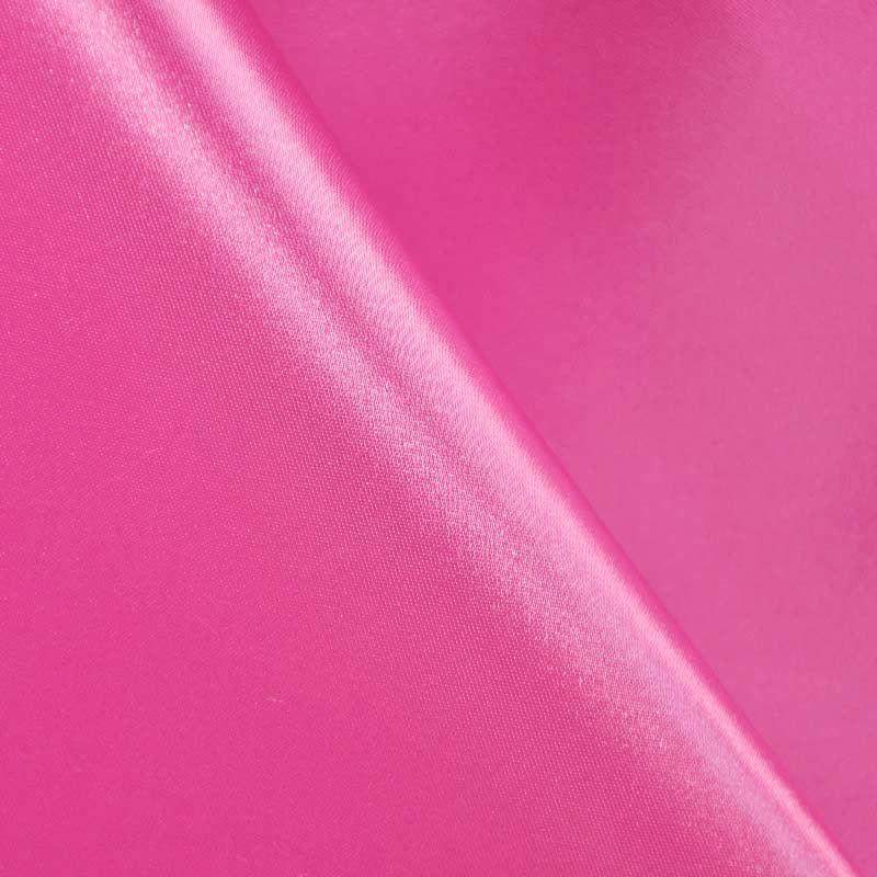 SATIN/POLY 3145 / HOT-PINK 515 / 100% Polyester Bridal Satin