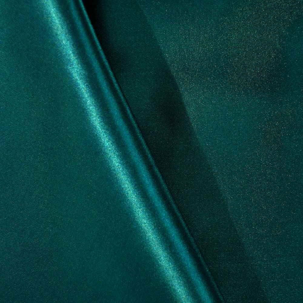 SATIN/POLY 3145 / PEACOCK 777 / 100% Polyester Bridal Satin