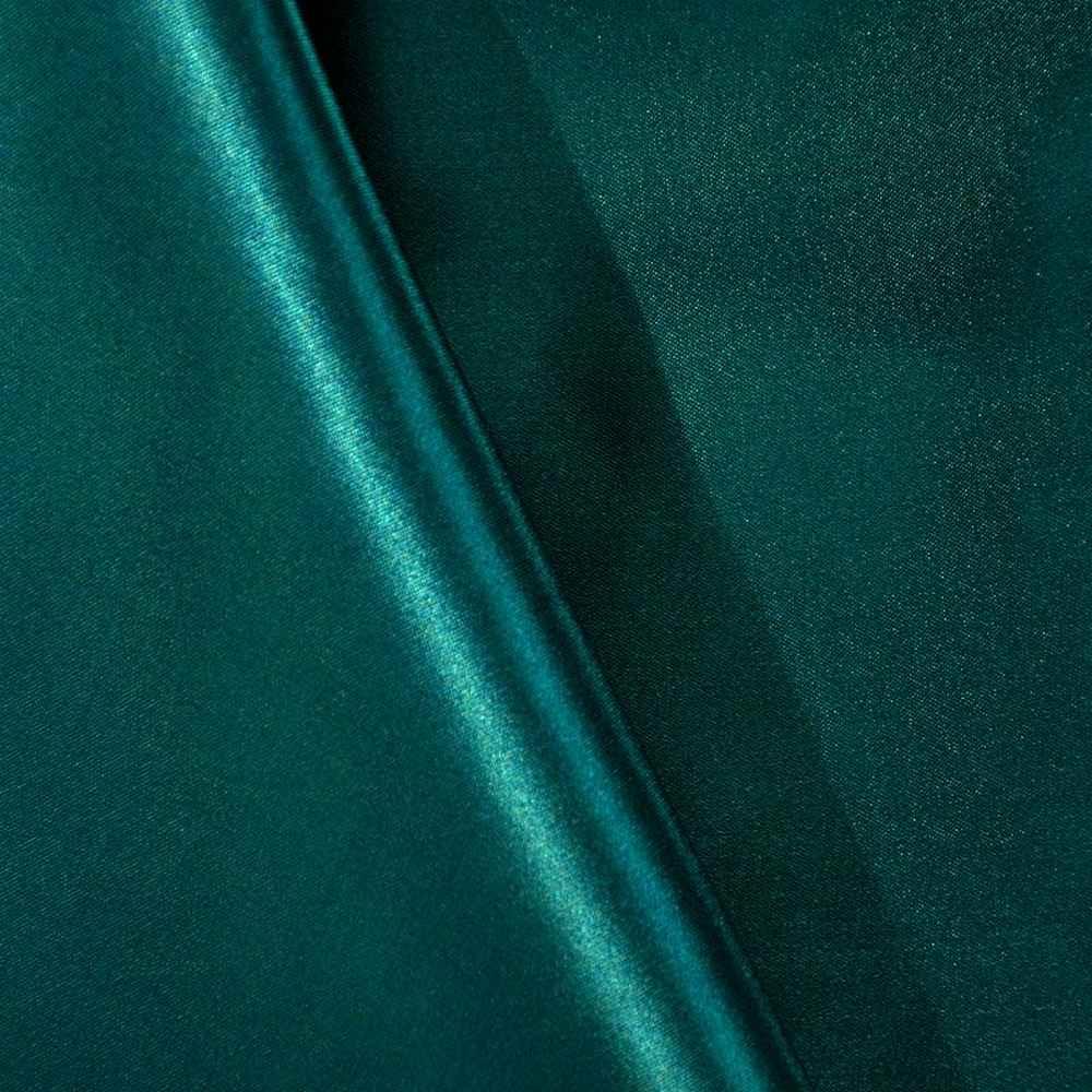 SATIN/POLY 3145 / PEACOCK 777 / 100% Polyester Bridal Satin