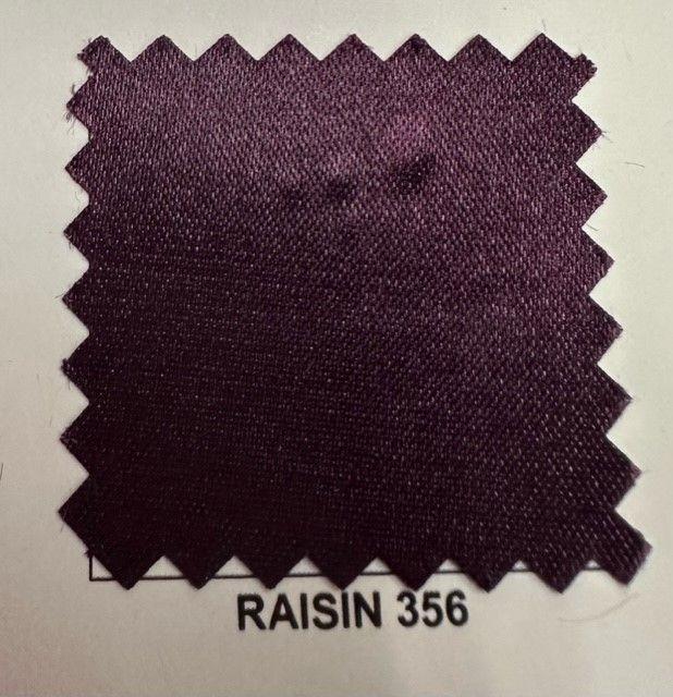 SATIN/POLY 3145 / RAISIN 356 / 100% Polyester Bridal Satin