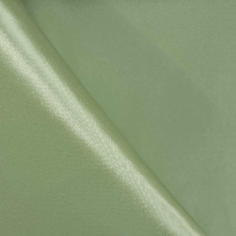 SATIN/POLY 3145 / SAGE 152 / 100% Polyester Bridal Satin