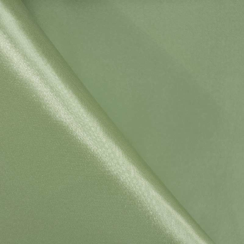 SATIN/POLY 3145 / SAGE 152 / 100% Polyester Bridal Satin