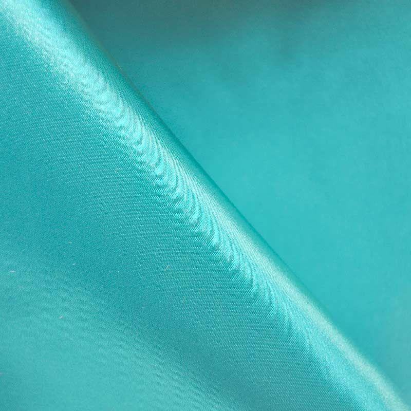 SATIN/POLY 3145 / TEAL GREEN 645 / 100% Polyester Bridal Satin