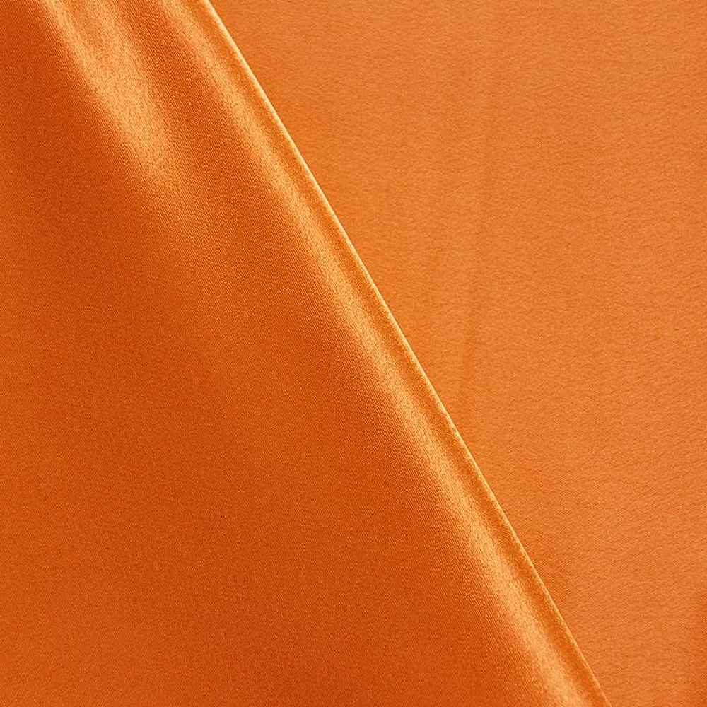 BACK CREPE / ORANGE/D 801 / 100% Polyester Back Crepe Satin
