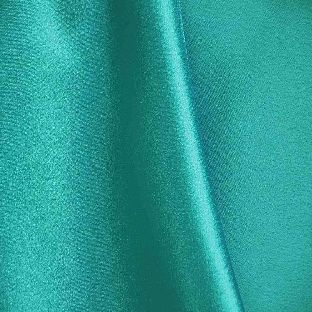 BACK CREPE / JADE 390 / 100% Polyester Back Crepe Satin