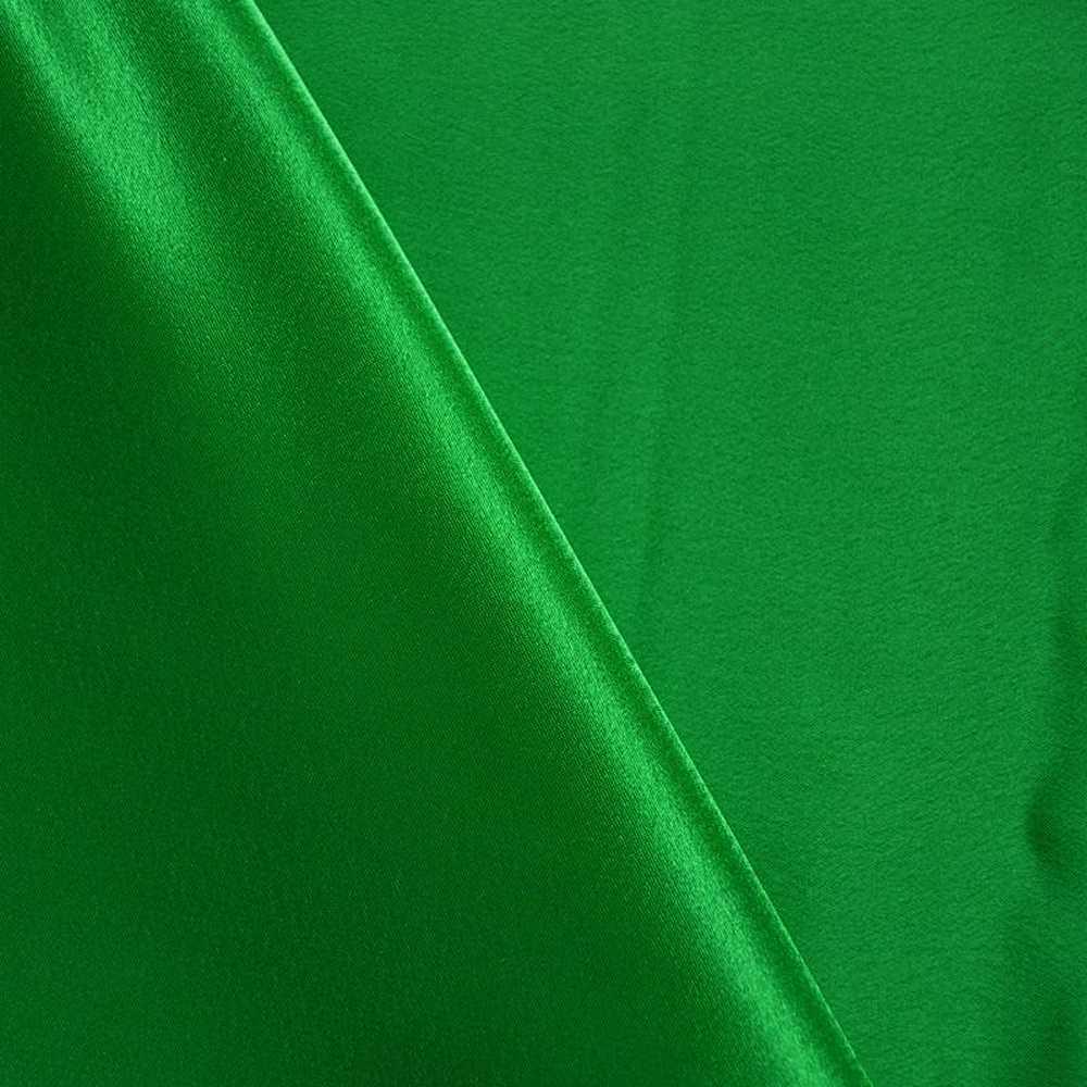 BACK CREPE / KELLY GREEN 116 / 100% Polyester Back Crepe Satin