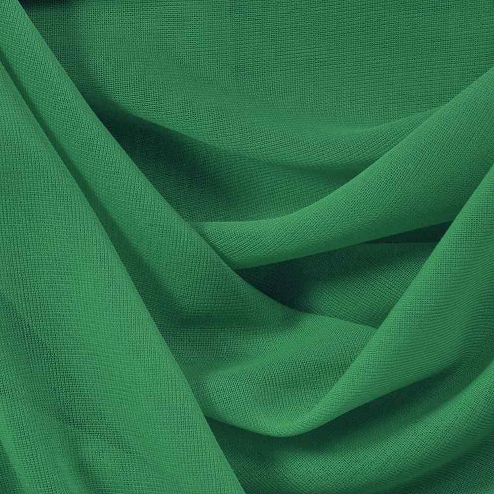 CMJ3000 / JADE/GREEN 595 / 100% Polyester Chiffon Matt Jersey