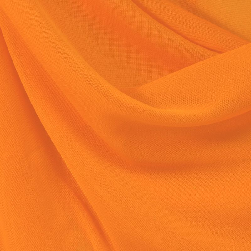 CMJ3000 / ORANGE 147 / 100% Polyester Chiffon Matt Jersey
