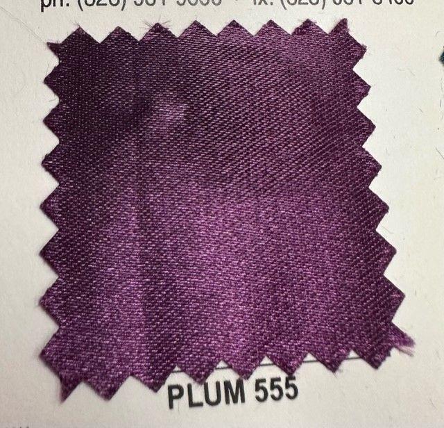 SATIN/POLY 3145 / PLUM 555 / 100% Polyester Bridal Satin