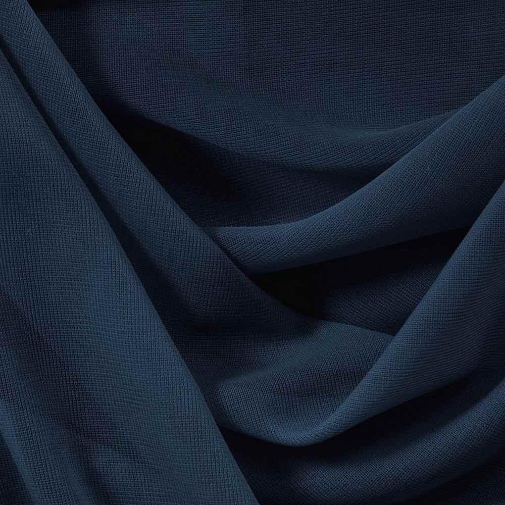 CMJ3000 / NAVY/L 447 / 100% Polyester Chiffon Matt Jersey