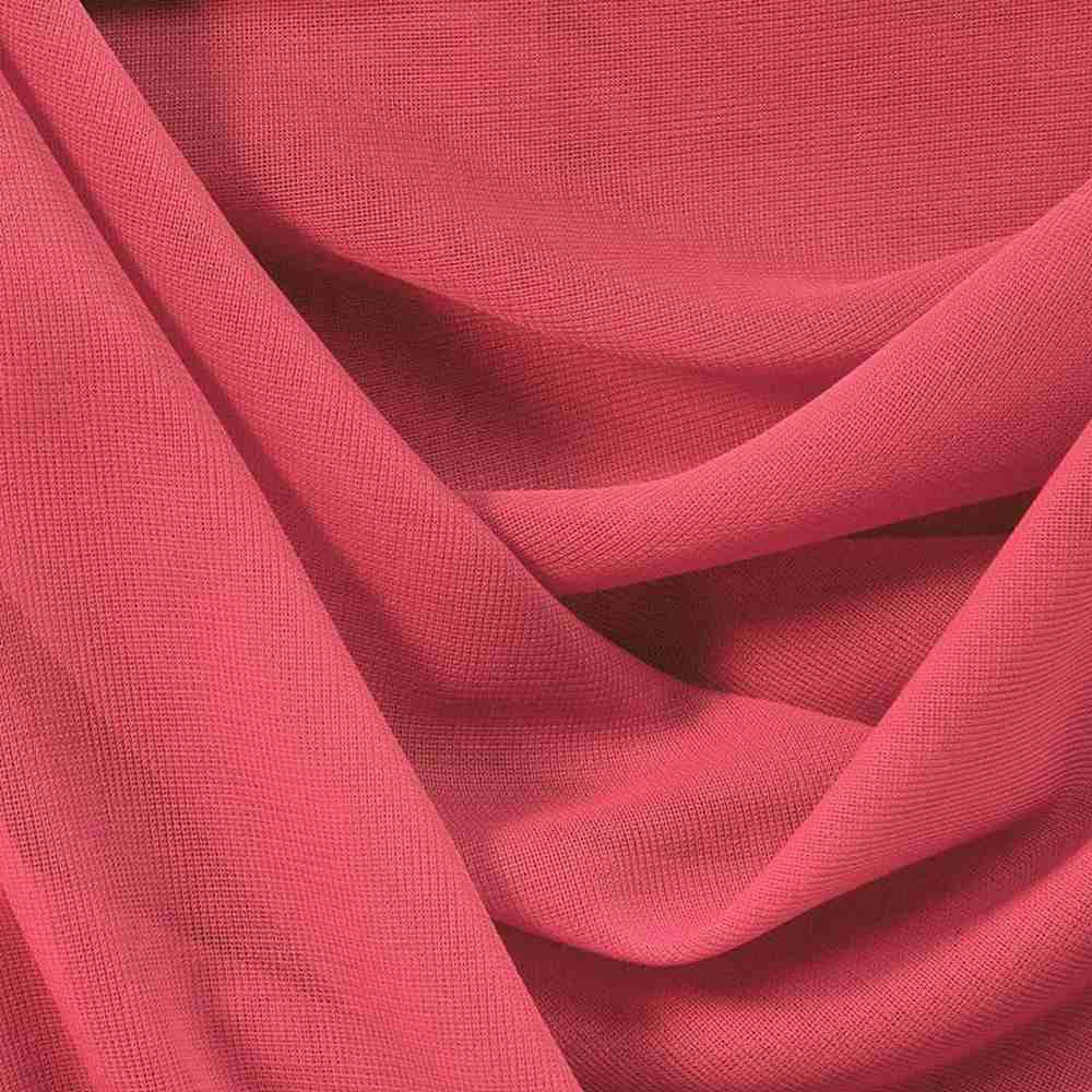 CMJ3000 / CORAL 212 / 100% Polyester Chiffon Matt Jersey