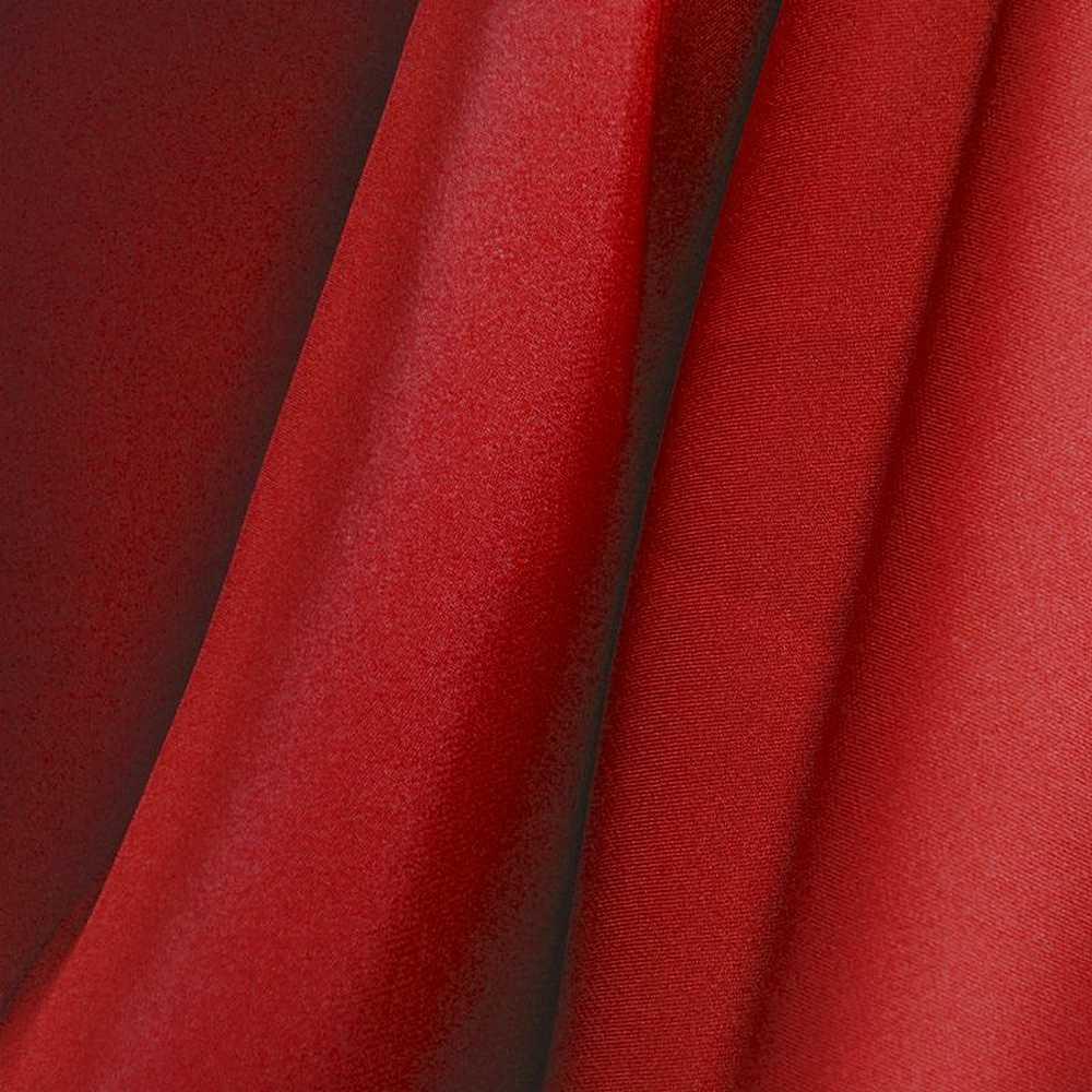 SILKY DULLSATIN / RED 392 / 100% POLYESTER SILKY DULL SATIN CHIFFON