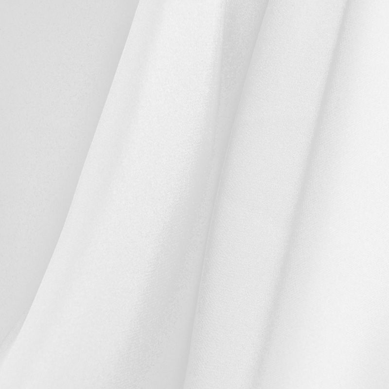 SILKY DULLSATIN / WHITE 110 / 100% POLYESTER SILKY DULL SATIN CHIFFON