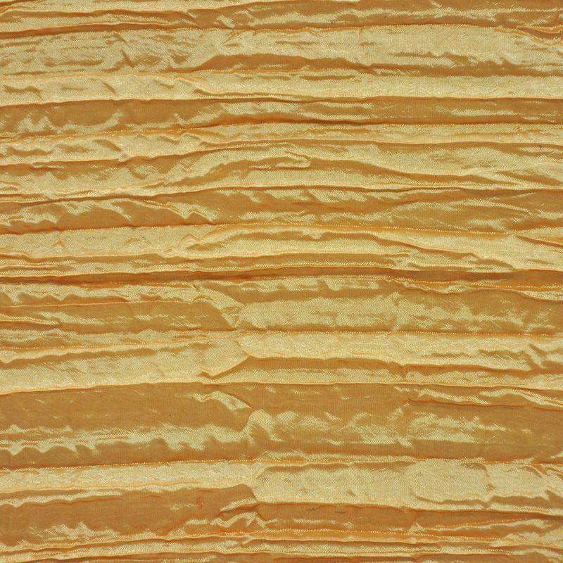 CREASED/TAF / GOLD 006 / 100% Polyester Creased Taffeta