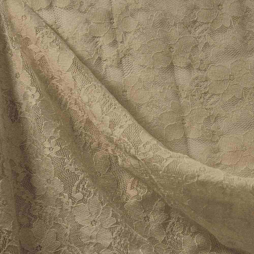 FB021 SPAN/LACE / TAUPE 9935 / 92% NYLON 8% SPANDEX LACE