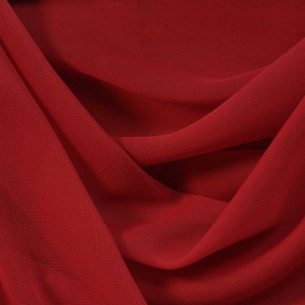 CMJ3000 / RED 192 / 100% Polyester Chiffon Matt Jersey