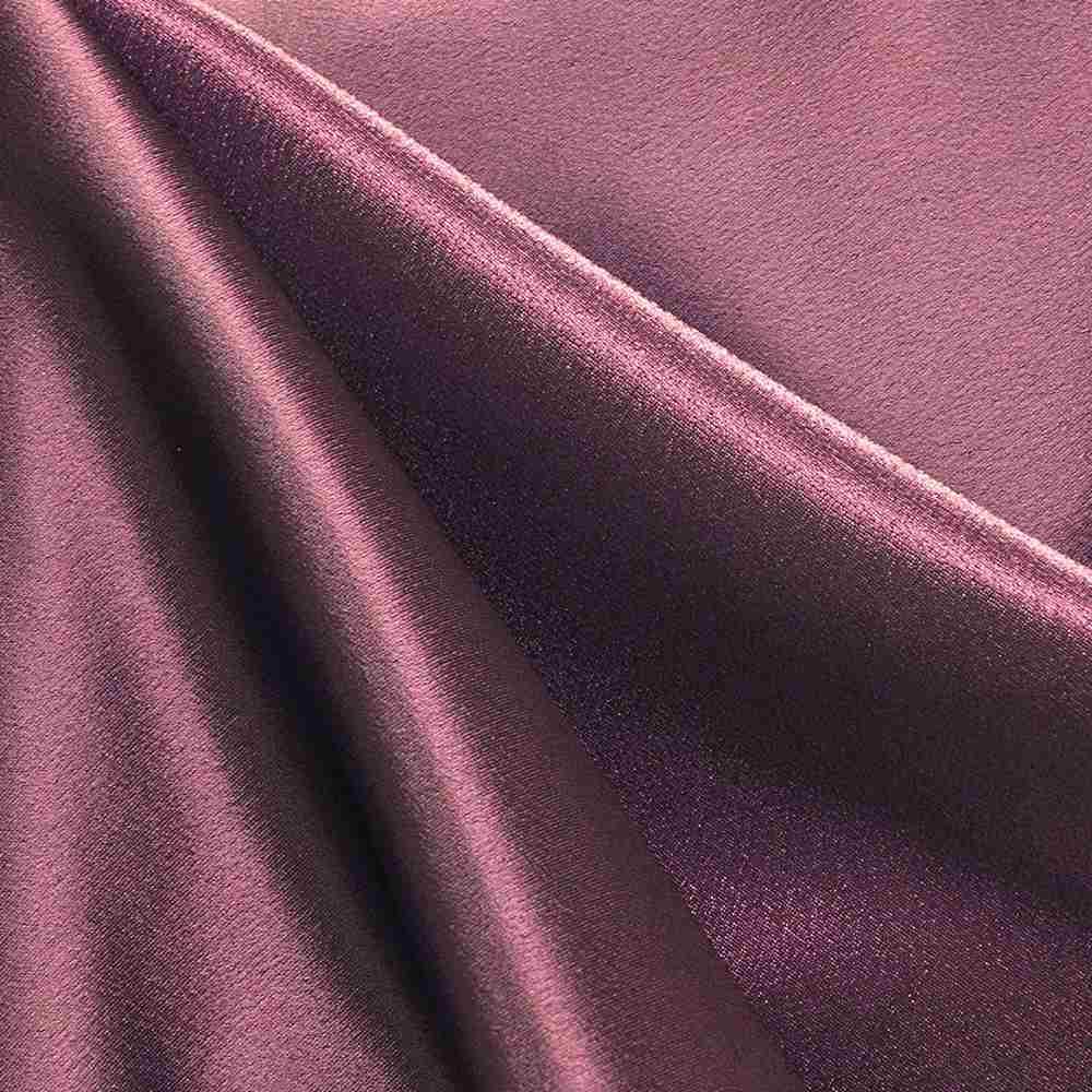 BACK CREPE / RAISIN/L 385-K / 100% Polyester Back Crepe Satin