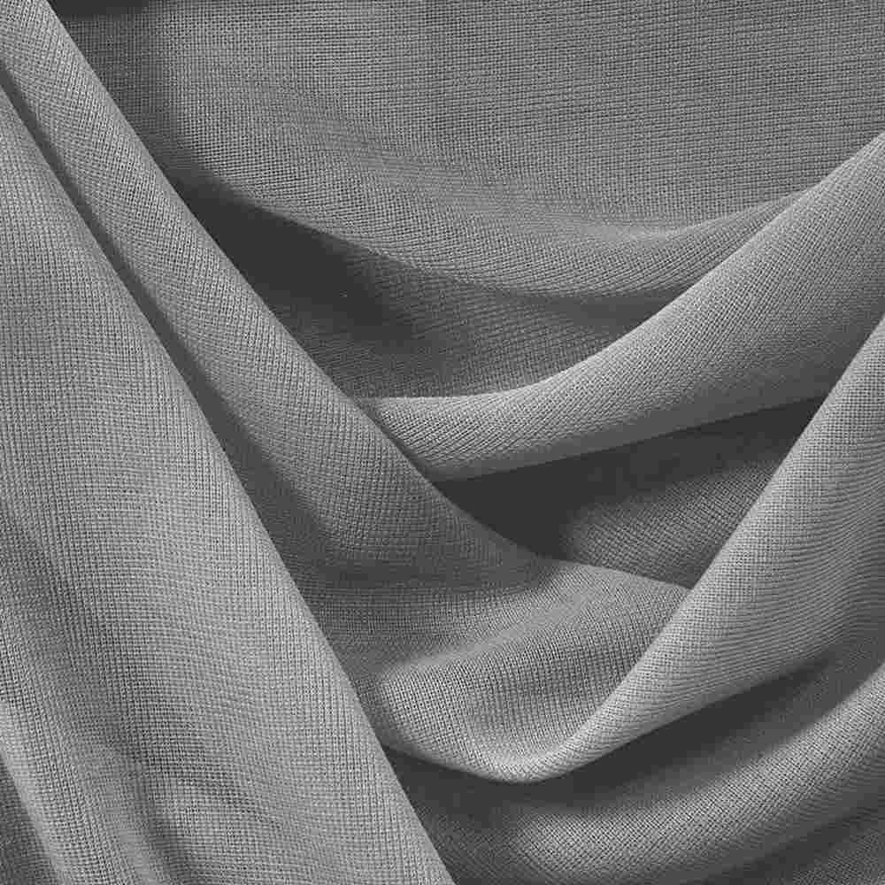 CMJ3000 / SILVER 1301 / 100% Polyester Chiffon Matt Jersey