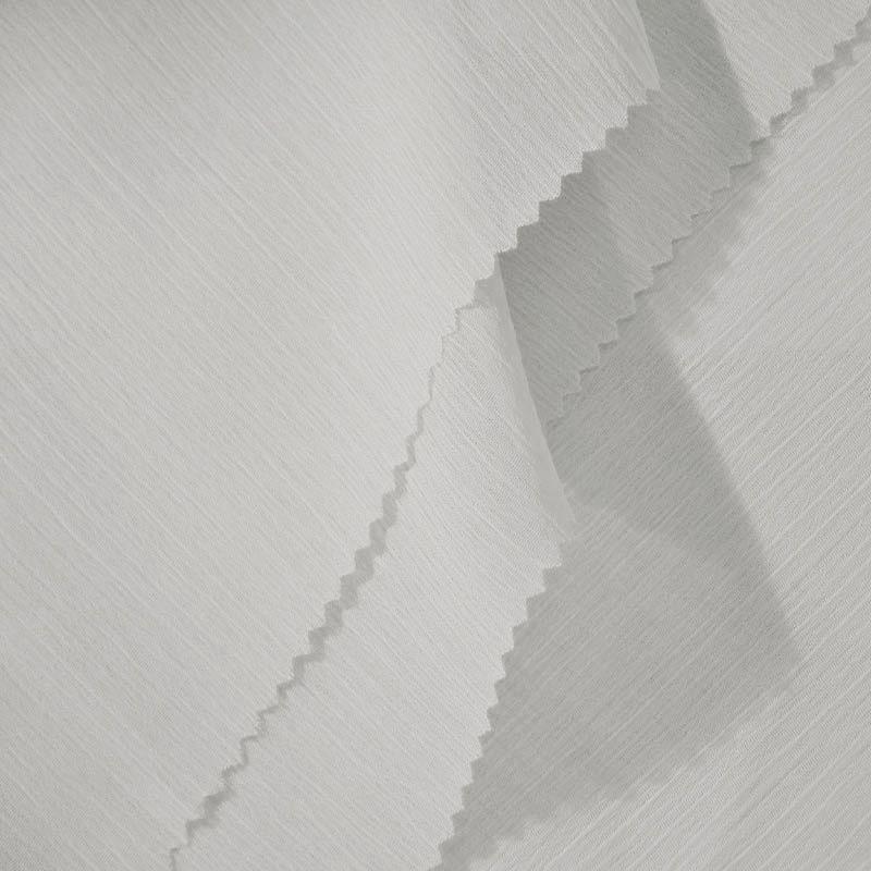 YORYU 060 / WHITE 355 / 100% Polyester Chiffon Yoryu